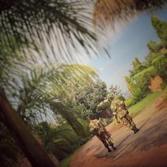 Burundian army